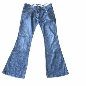 Tyte  bootcut darker wash jeans
